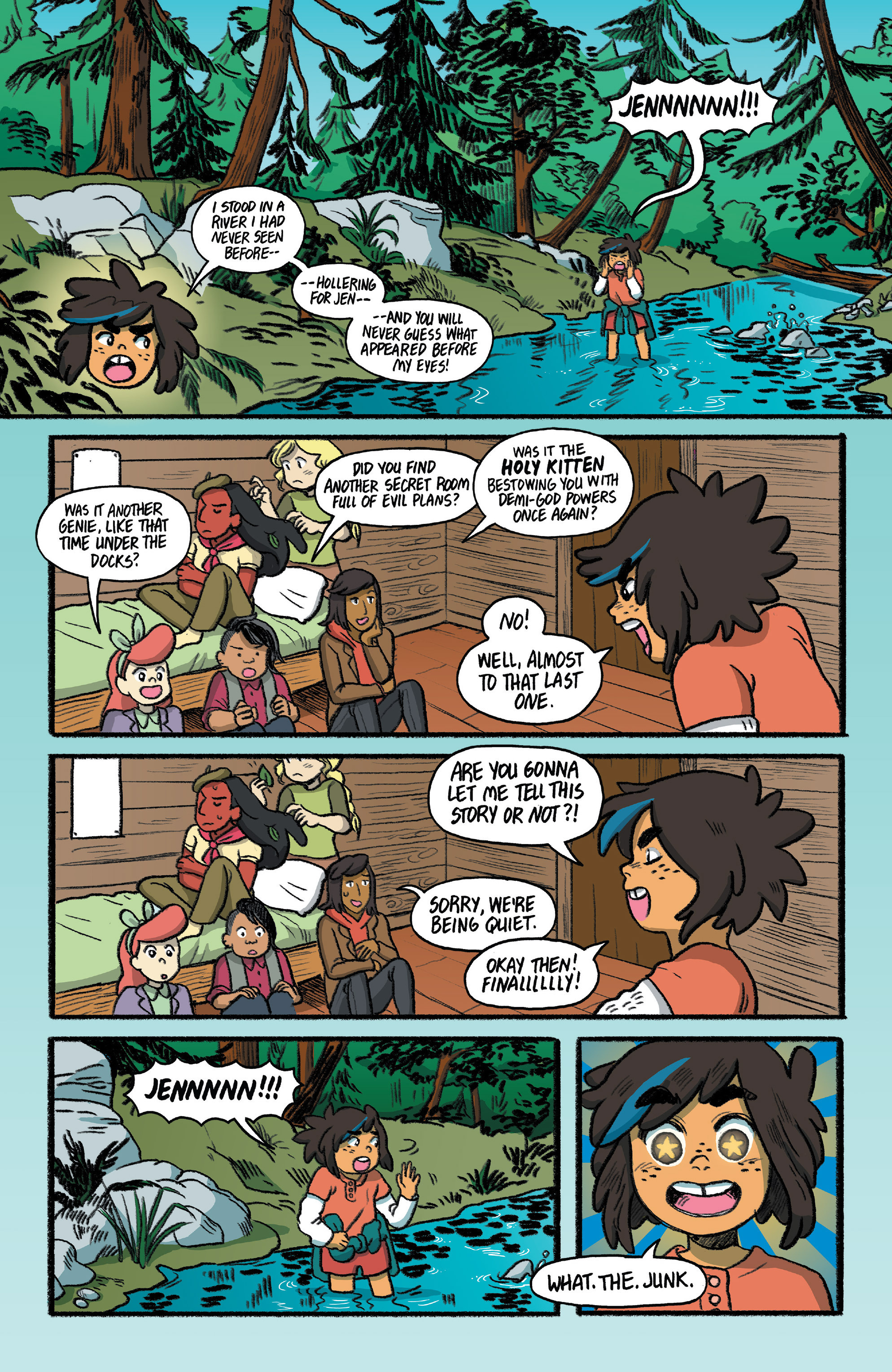 Read online Lumberjanes: Makin' the Ghost of It 2016 Special comic -  Issue # Full - 37