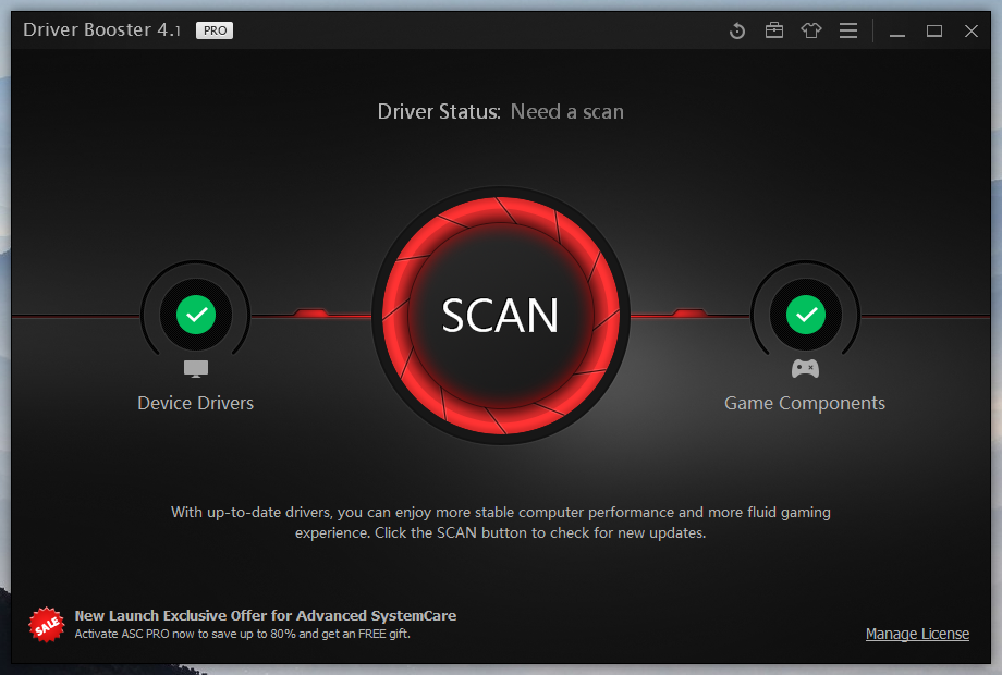 driver booster 4.1 activation code