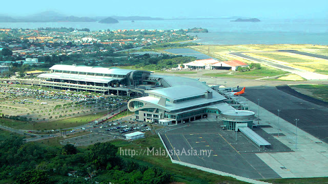 Aerial Photo of KKIA Sabah