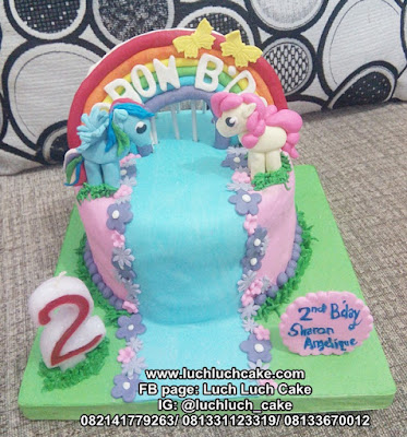 Kue Tart Ulang Tahun Fondant My Little Pony
