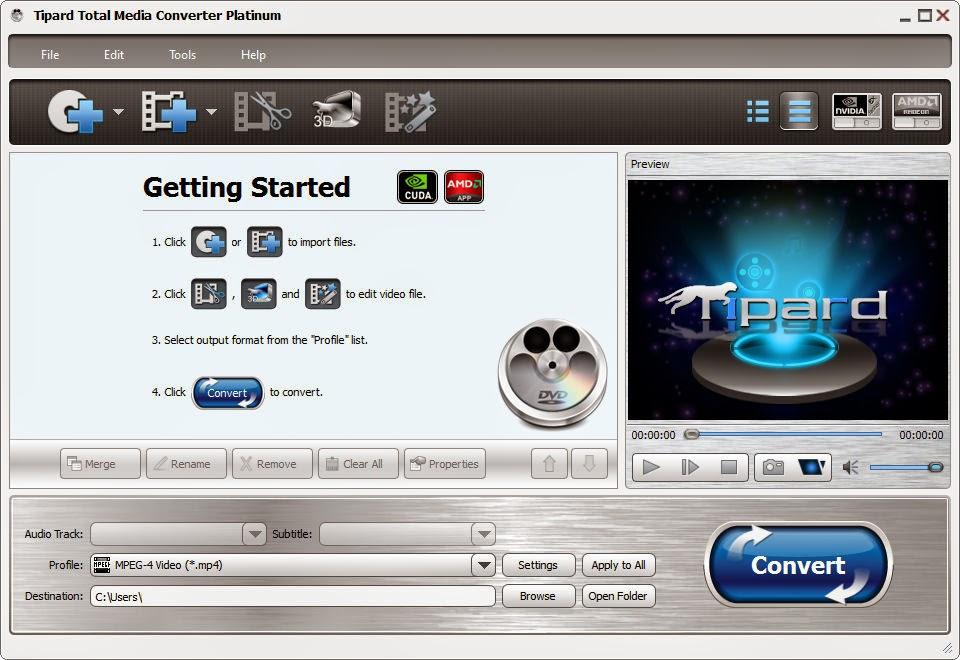 Tipard Total Media Converter Platinum Key Final