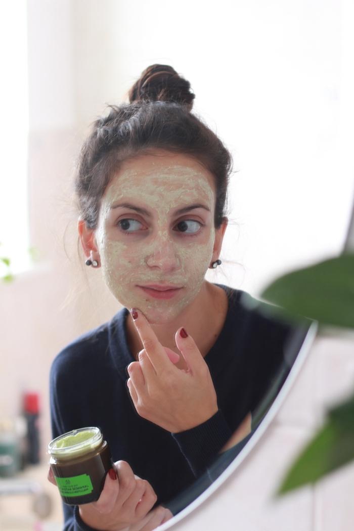 Body Shop Matcha Tea Face Mask Review