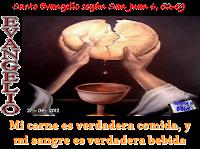 Resultado de imagen para EN aquel tiempo, disputaban los judíos entre sí: «¿Cómo puede este darnos a comer su carne?».