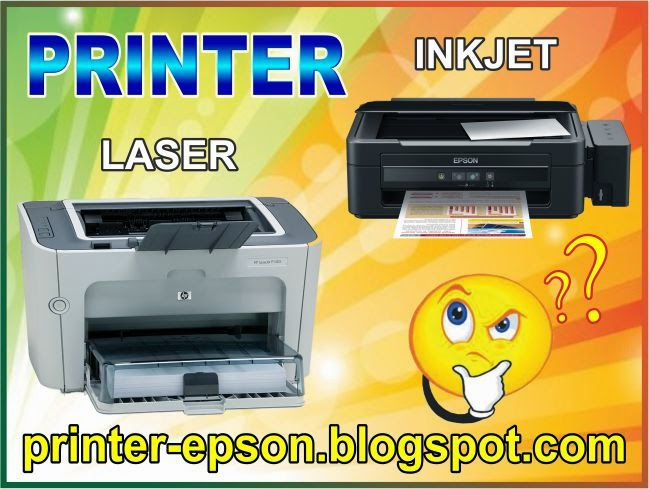pirnter inkjet vs laser