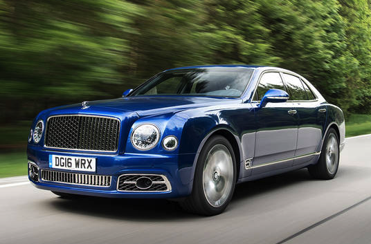 2017 Bentley Mulsanne Car and Driver Review