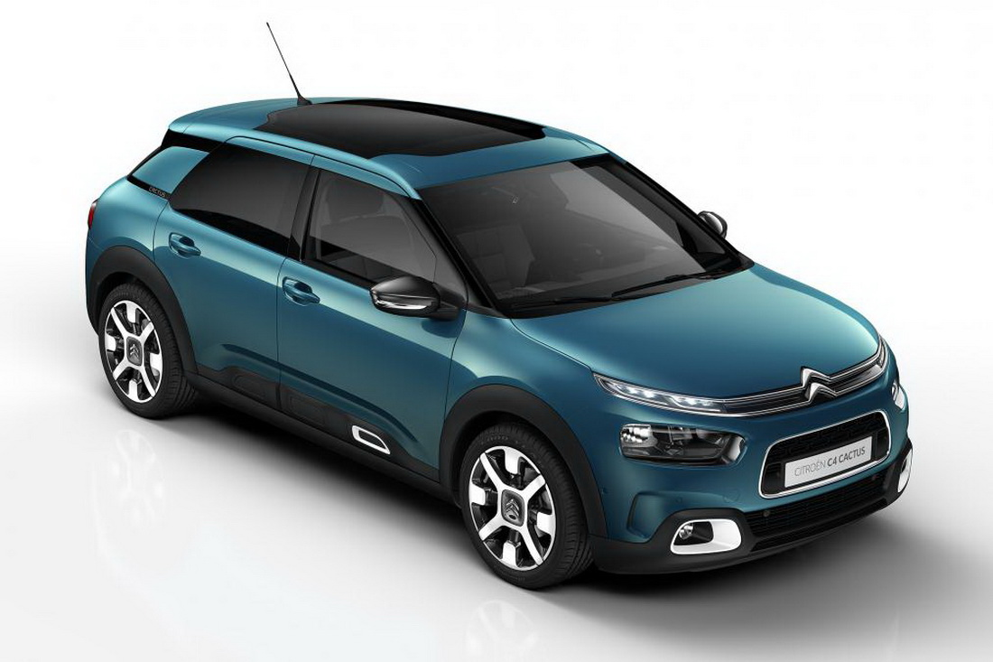 2018 citroen c4 cactus goes on sale in uk featuring new. Black Bedroom Furniture Sets. Home Design Ideas