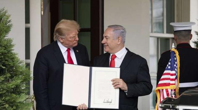 لماذا أهدى ترامب إسرائيل جزءا من سوريا؟