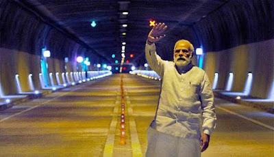 narendra modi chenani nashri tunnel GKtree