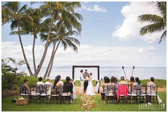 Maui Wedding Package By Simple Location Sugar Beach Events