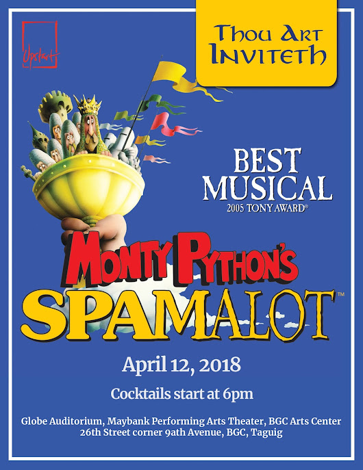 Monty Python's Spamalot: Back by Popular Re-QUEST!