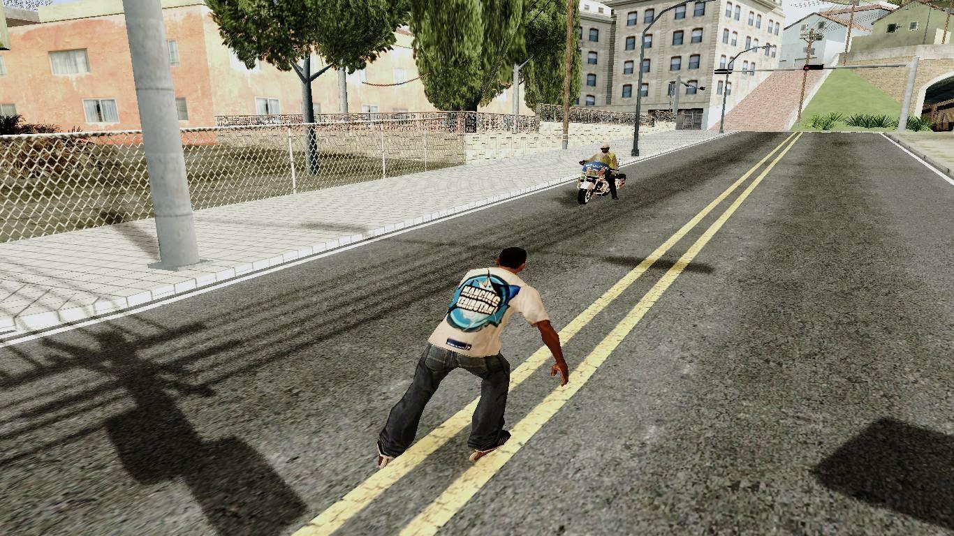 Roller Skates Gta San Andreas 1