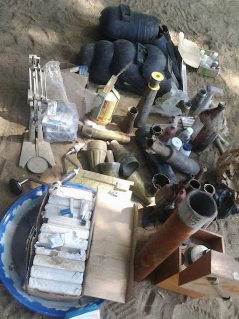 Civil Defence uncovers 2 bomb-making factories in Dikwa