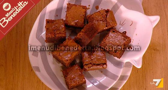 Quadrotti Di Torta Al Cioccolato La Ricetta Di Benedetta Parodi