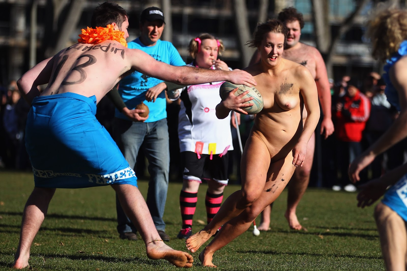 Public Nudity Project Naked Rugby 2011 Dunedin, New Zealand-8920