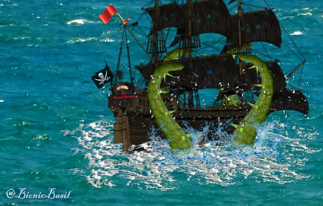 **2015 REVISITED** Tuesday Tails ~ The Extraordinary Voyages of Cap'n Basil Blackheart & His Motley Crew ~ Part VI ©BionicBasil®