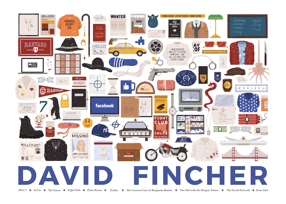 06-David-Fincher-Maria-Suarez-Inclan-Movie-Illustrations-Infographic-Guess-the-Film-www-designstack-co