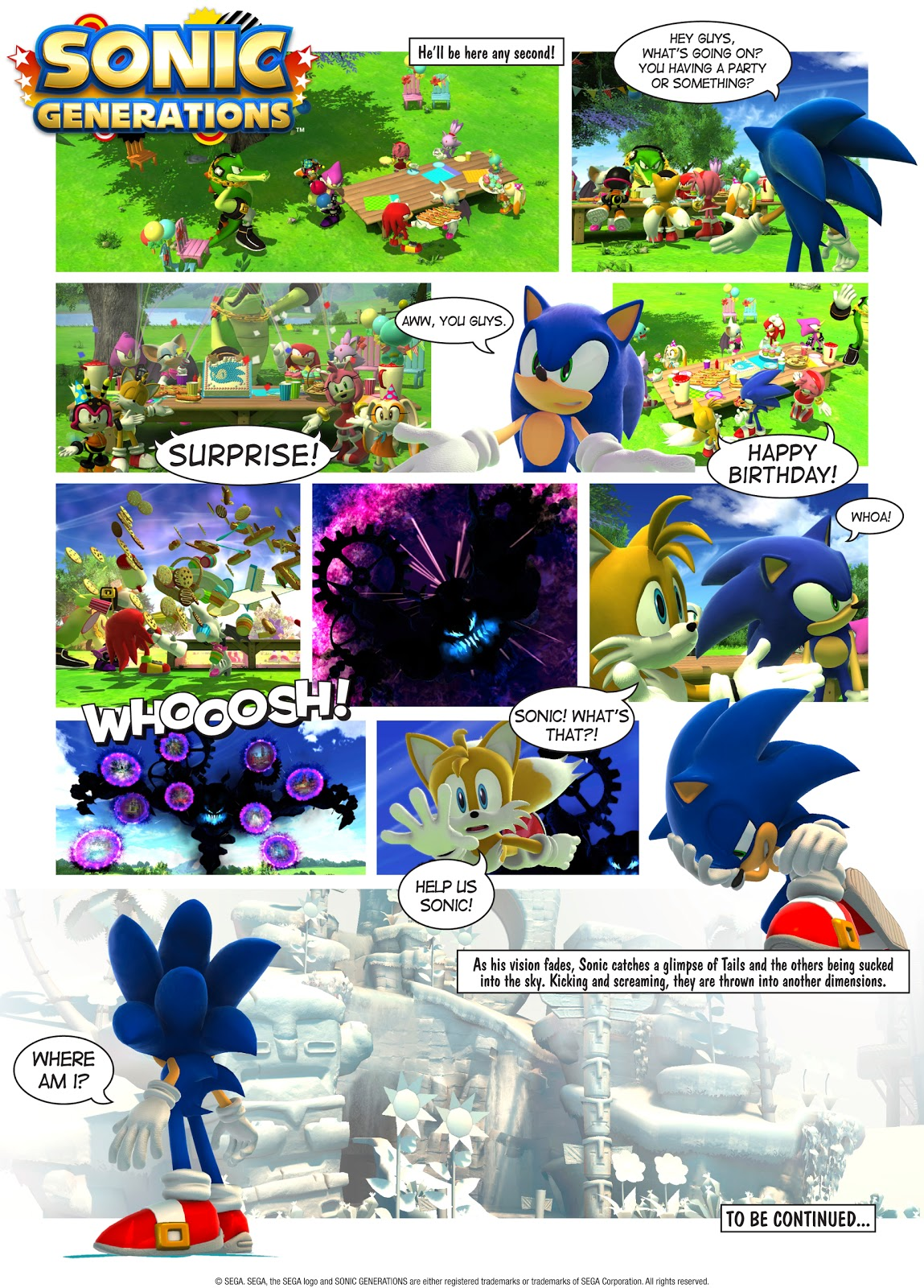 Video games: Celebrate 20 years of Sonic the Hedgehog with