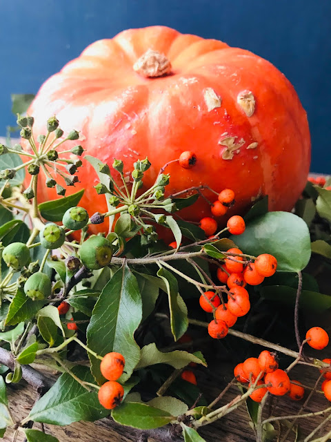 Hokkaido Pumpkin Centerpiece