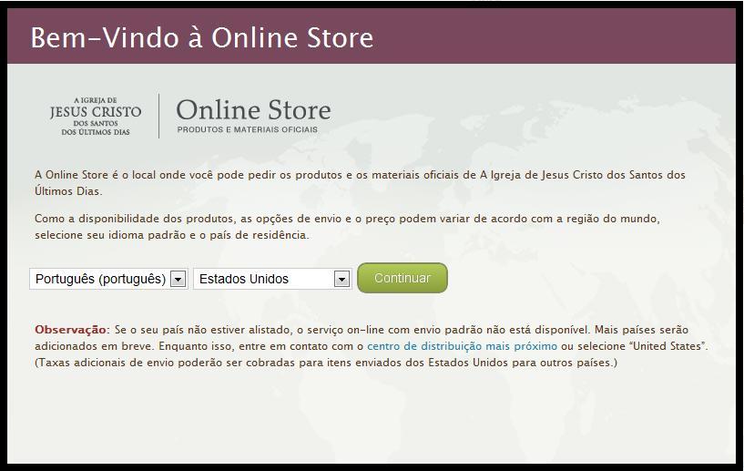 A Igreja de Jesus Cristo dos Santos dos Últimos Dias renovou a sua loja  online b4baa81fb0b40
