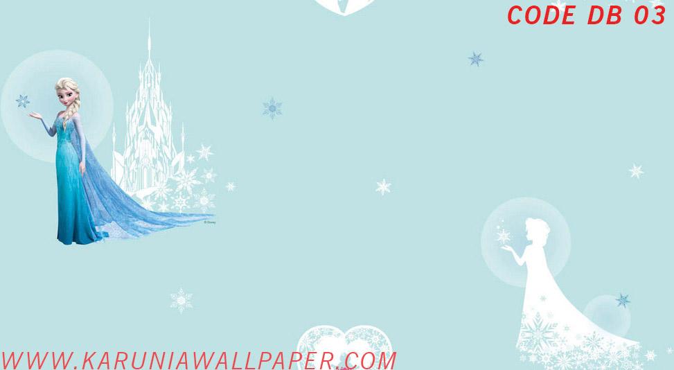 jual wallpaper anak frozen karuniawallpaper surabaya