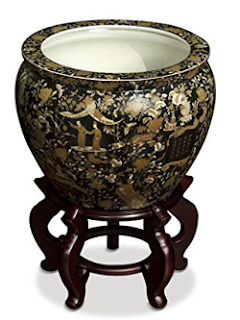Chinoiserie Style Fish Bowl