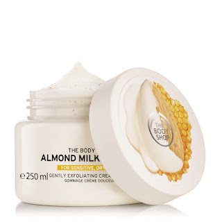 The Body Shop Almond Milk and Honey Gently Exfoliating Cream Body Scrub 250ml_Price - Rs. 1495