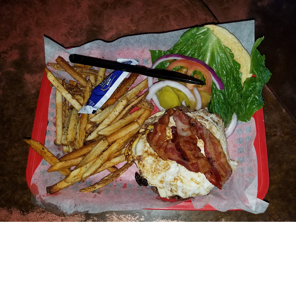 Homestyle Seasoned Burger by Young Avenue Deli