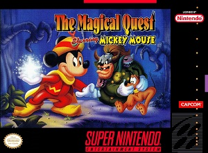 Mickey Mouse - The Magical Quest (BR) [ SNES ]