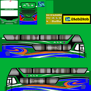 Livery Bussid ALS SDD