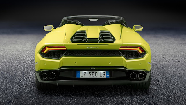 Lamborghini Huracán LP 580-2 Spyder 2017
