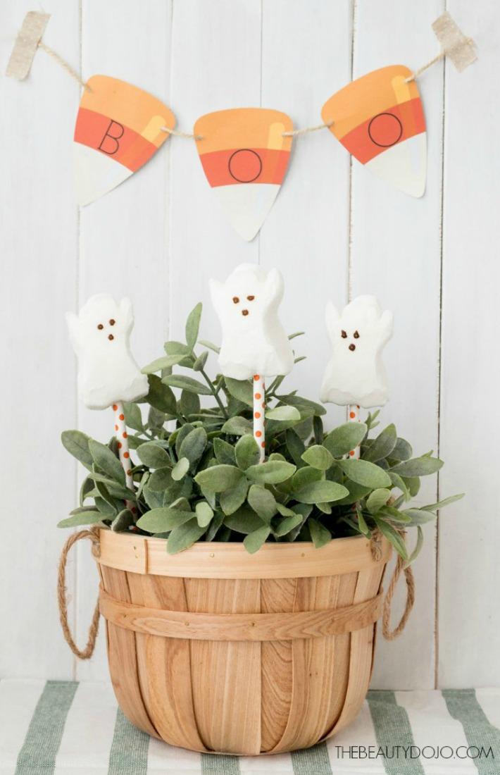 dulce rincón de Halloween ayudaadecorar.blogspot.com.es