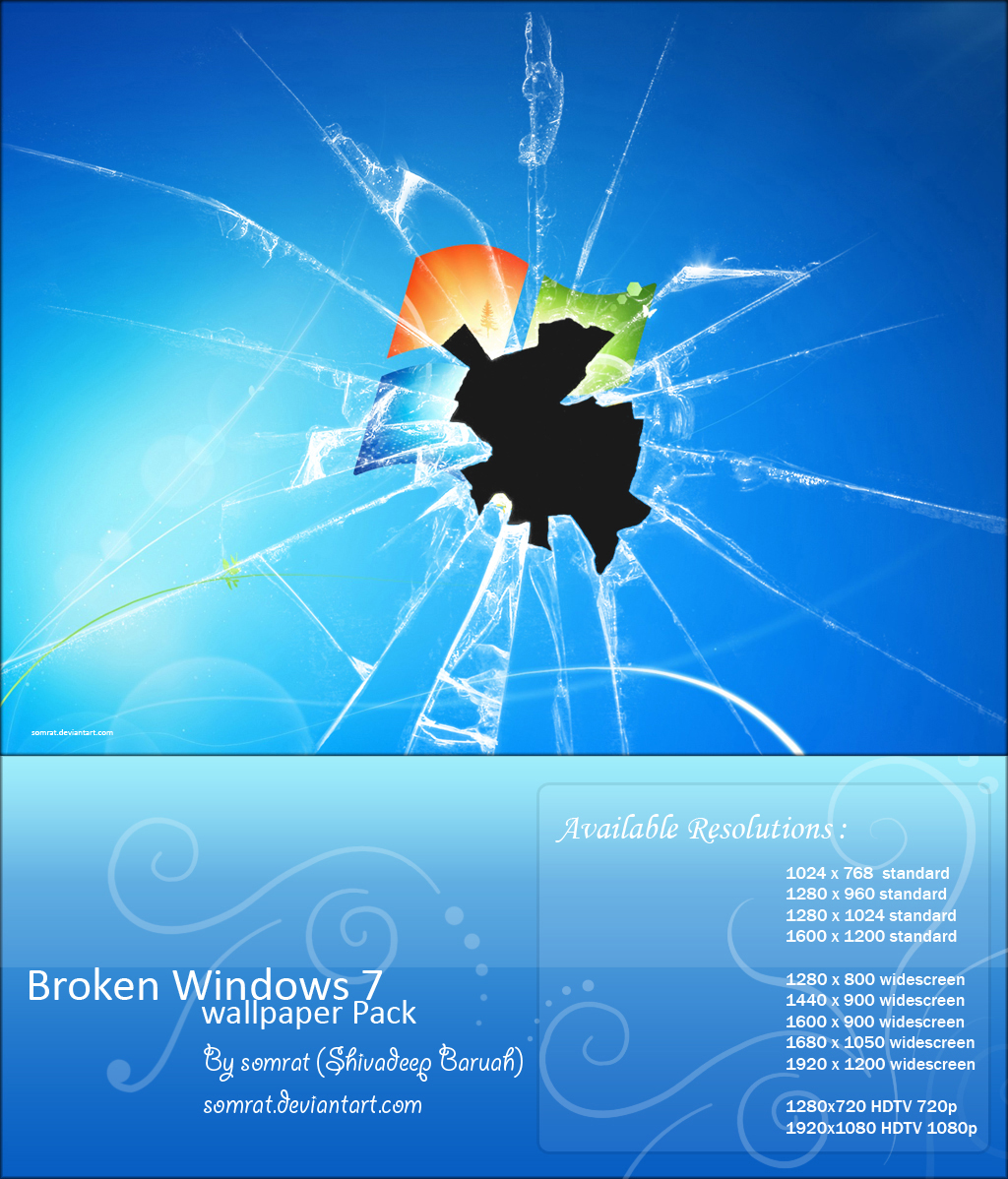 Broken Screen Wallpaper: Hd Cracked Screen Wallpaper