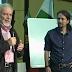 Julio Anguita soprende a Pablo Iglesias en el mitin de Podemos en Córdoba