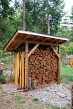 Wood Firewood Storage Shed Plans