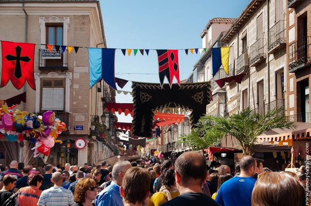 Mercado Cervantino medieval Alcalá de Henares