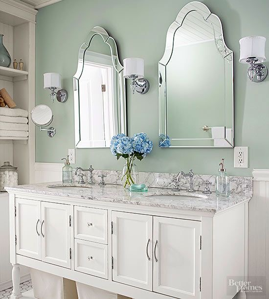 Golden Boys And Me Our Bathroom In Print Better Homes And Gardens Kitchen And Bath Makeovers