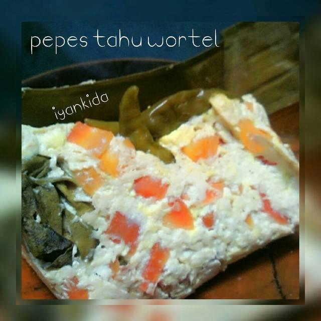 Resep Pepes Tahu Wortel