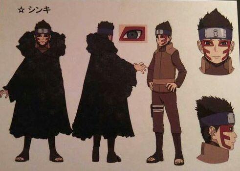 Boruto Karakter - Kumpulan Foto Shinki dan fakta tentang Shinki