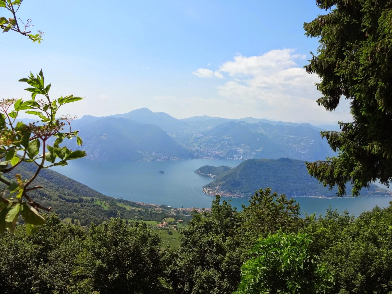итальянское озеро изео