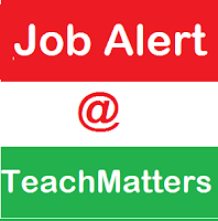 Job Alert @ TeachMatters.in.banner