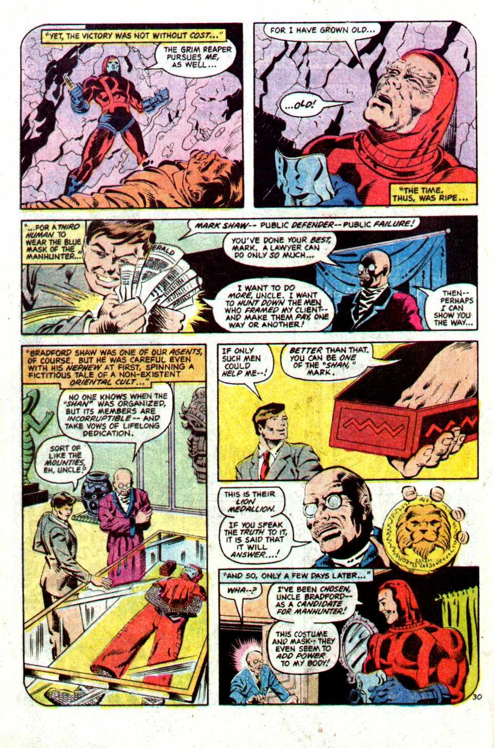 Read online Secret Origins (1986) comic -  Issue #22 - 31