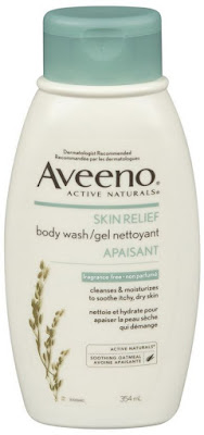 Moisturize in your shower with Aveeno, Uriage and Olay!