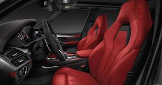 BMW X5 M Safety: emergency braking, back-up camera