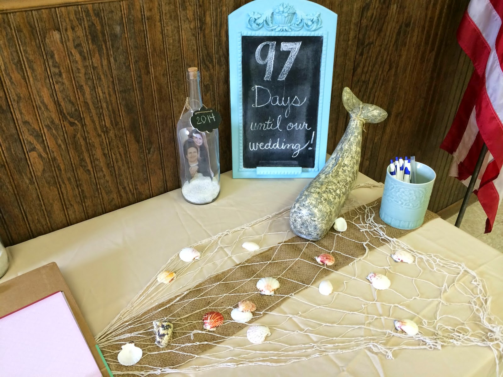 My Favorite Things: Jess's Beach Themed Wedding Shower