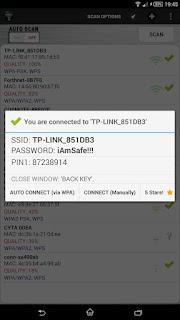 تطبيق Wifi WPS Unlocker لاختراق و فتح شبكات الواي