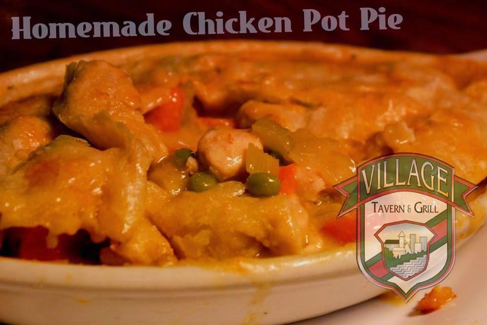 chicken pot pie tender chicken breast sautéed with fresh vegetables ...