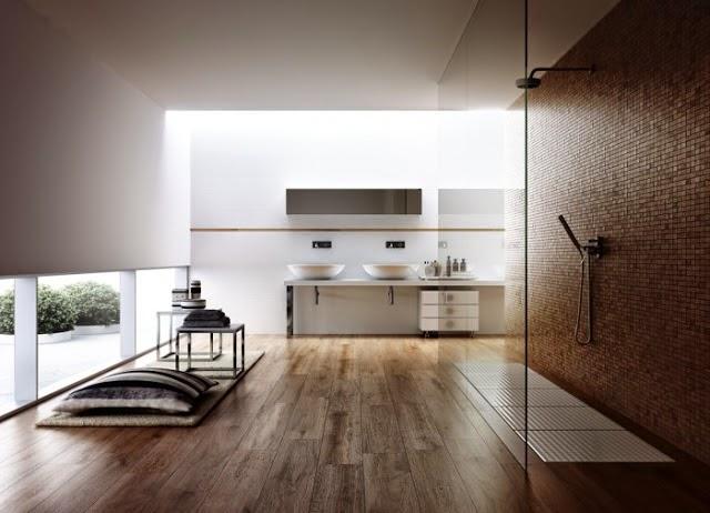 baño moderno estilo spa