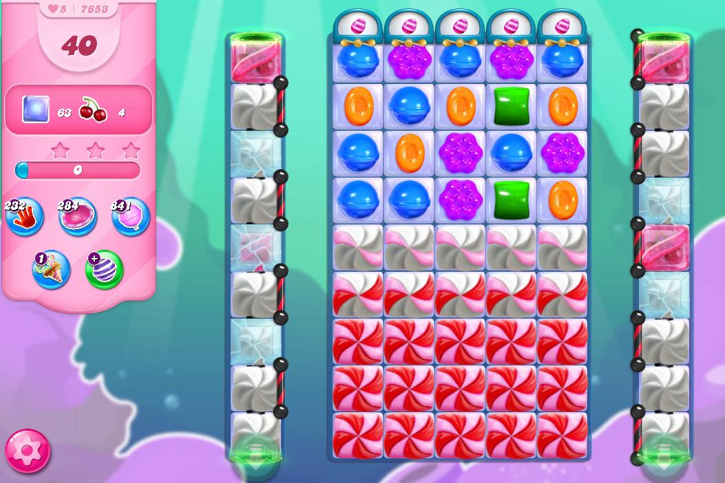 Candy Crush Saga level 7653