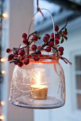 szklany lampion