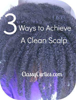 Clean scalp